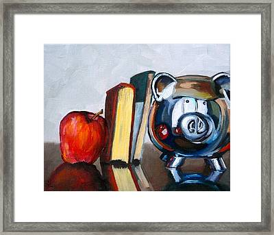 Back To School Framed Print by Amy Higgins