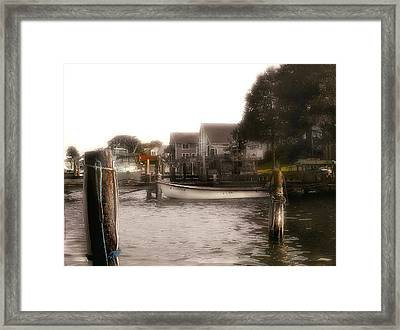 Back To Shore Framed Print