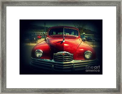 Back To The Future Packard Framed Print by Susanne Van Hulst