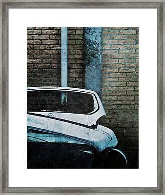 Back To The Wall Framed Print by Odd Jeppesen