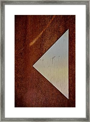 Back Up Framed Print by Odd Jeppesen
