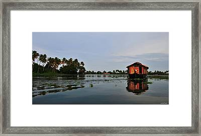 Back Waters Framed Print