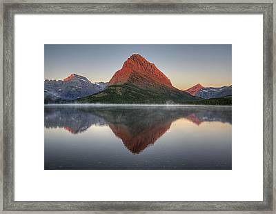 Backbone Of The Land Framed Print