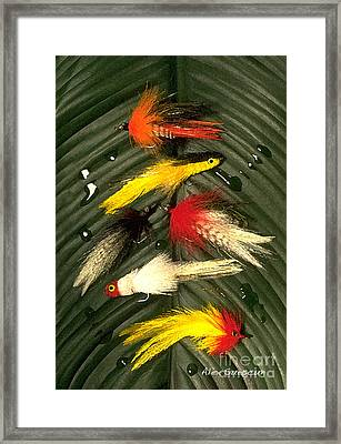 Backcountry Flies Framed Print by Alex Suescun