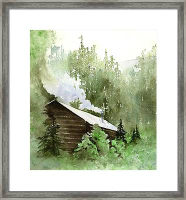 Backcountry Morning Framed Print