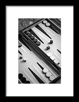 Backgammon Framed Prints
