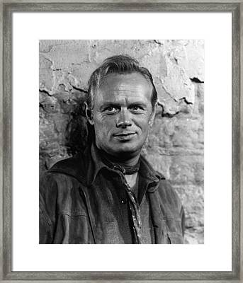 Backlash, Richard Widmark, 1956 Framed Print