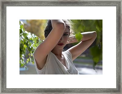 Backlit Beauty Framed Print