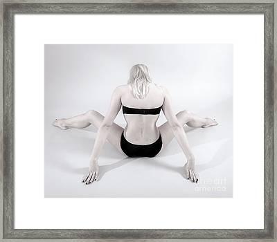 Backside Framed Print by Pierre-jean Grouille