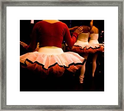 Backstage Framed Print by Denice Breaux