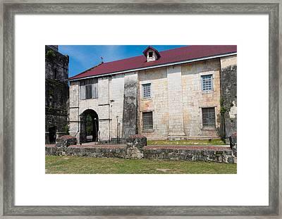 Baclayon Church Framed Print by Hans Engbers