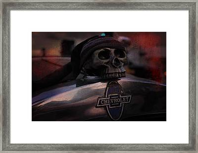 Bad Ass Chevrolet Framed Print by Scott Hovind