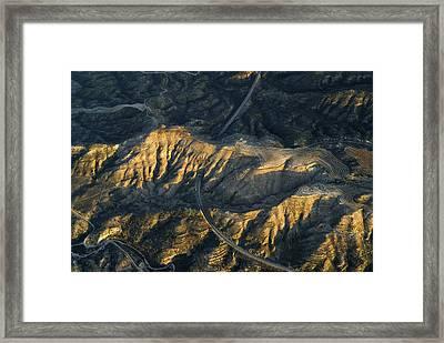 Bad Lands Granada Spain Framed Print by Guido Montanes Castillo