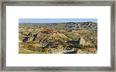 Bad Lands  Framed Print by Michael Peychich