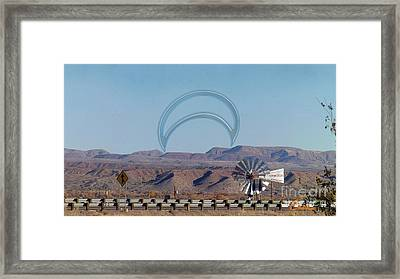 Bad Moon Rising Framed Print by Feile Case