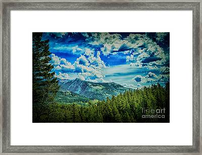 Bad Mountain Framed Print by Rick Bragan