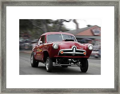 Framed Print featuring the photograph Bad News 2 by Bill Dutting