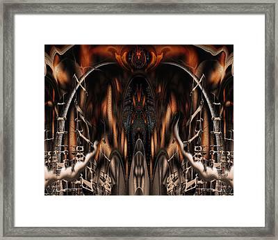 Bad Ride Framed Print by Steve Sperry