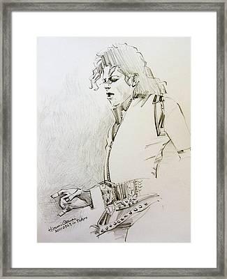 Bad Sketch 01 Framed Print