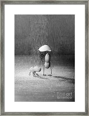 Bad Weather 01 Framed Print by Nailia Schwarz