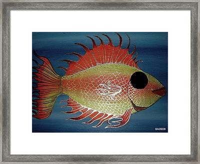 Badfish Framed Print