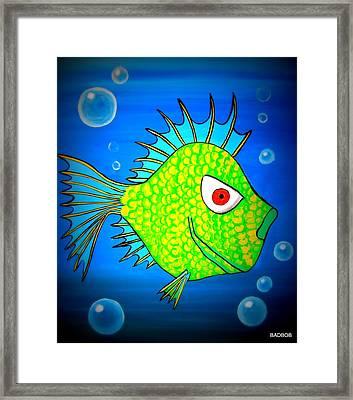 Badfishy Framed Print