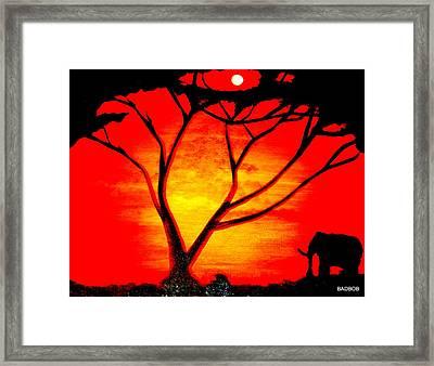 Badhotsun Framed Print