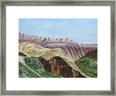 Badlands II Framed Print