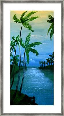 Badwind Framed Print
