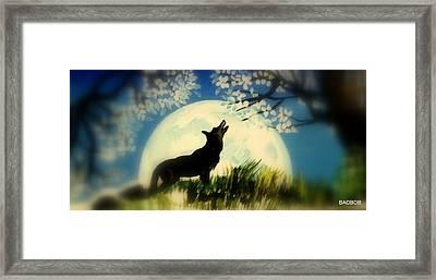 Badwolf Framed Print