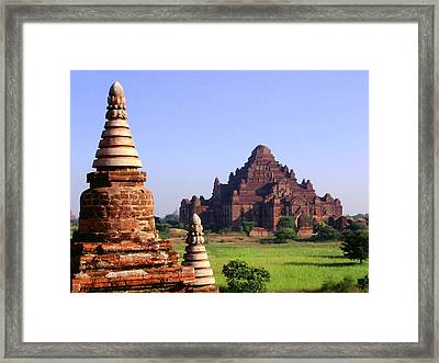 Bagan Temple Framed Print