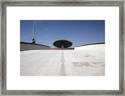 Baghdad, Iraq - The Ramp That Leads Framed Print by Terry Moore