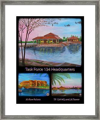 Baghdad Memories Framed Print by Michael Matthews