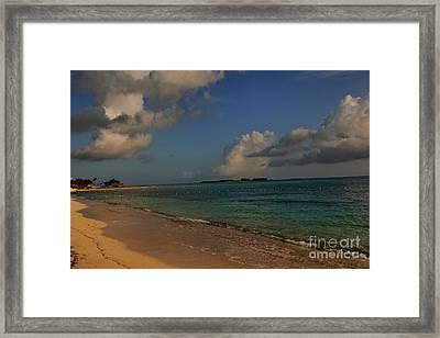 Bahama Ocean View Framed Print by Nancie DeMellia