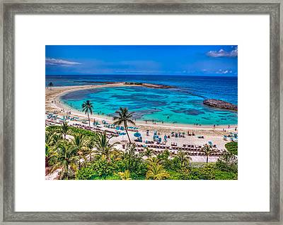 Framed Print featuring the photograph Bahamas. Nassau by Anna Rumiantseva