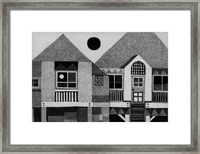 Bahay Pilipino Framed Print