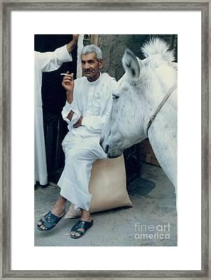 Bahrain Cosmopolitanism Framed Print