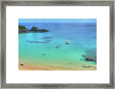 Baia Do Sancho Bay Framed Print by by Roberto Peradotto