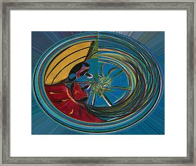 Baianas At The Shore II Framed Print by Fatima Neumann