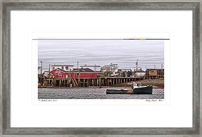 Bailey Island Maine Framed Print by Richard Bean