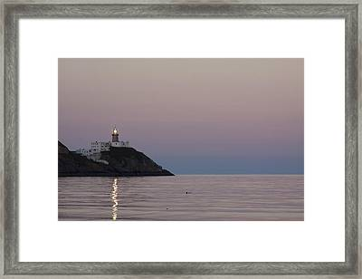 Baily Lighthouse Howth Framed Print by Dave McManus