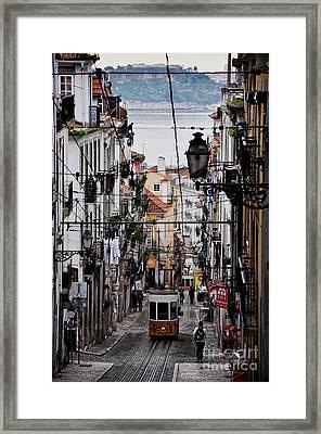 Bairro Alto - Lisbon Framed Print by Armando Carlos Ferreira Palhau