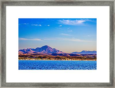 Baja Mountains Framed Print by Russ Harris