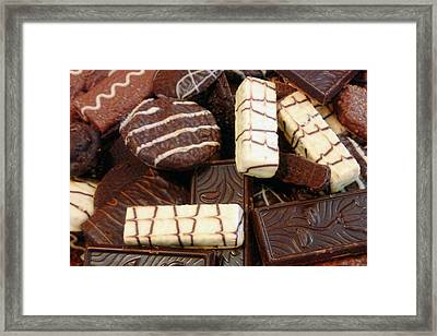 Baker - Who Wants Cookies Framed Print by Mike Savad