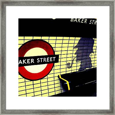 Baker Street Station, May 2012 | Framed Print