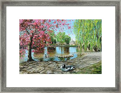 Bakewell Bridge - Derbyshire Framed Print
