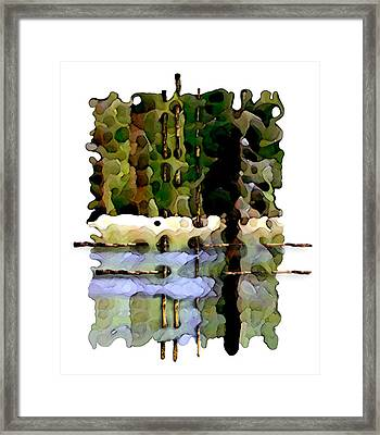 Balance Of Nature Framed Print by Brenda Leedy