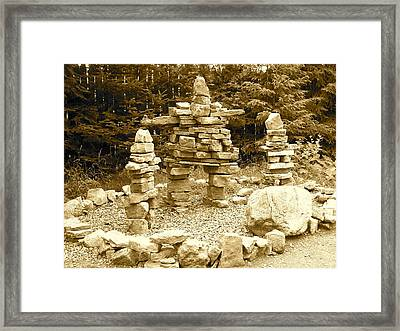 Framed Print featuring the photograph Balance by Robin Regan