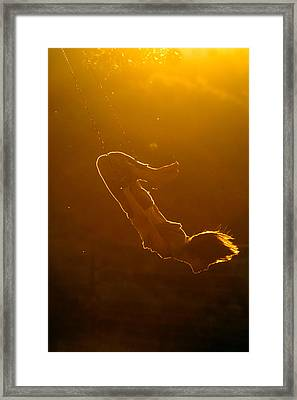 Balance The Light Framed Print