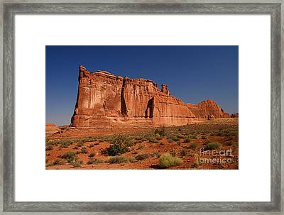 Balanced Rock Arches Np Framed Print by ELITE IMAGE photography By Chad McDermott